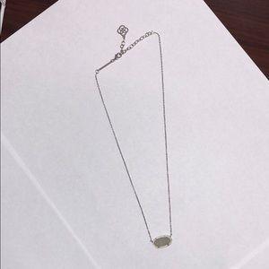 Kendra Scott Jewelry - Kendra Scott Elisa Silver Iridescent Drusy